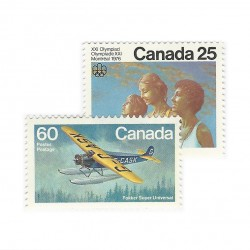 Lettermail to Canada - 0,85$